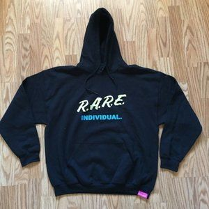 NEW PINK DOLPHIN RARE INDIVIDUAL HOODIE SZ XL